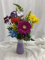 Assorted Glass Vase