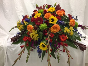 A Burst Of Autumn Casket Piece